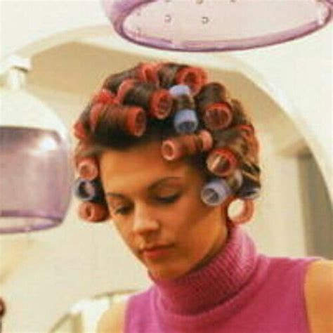 hair perming fetish story 1000 images about hair curlers and hair rollers and perm