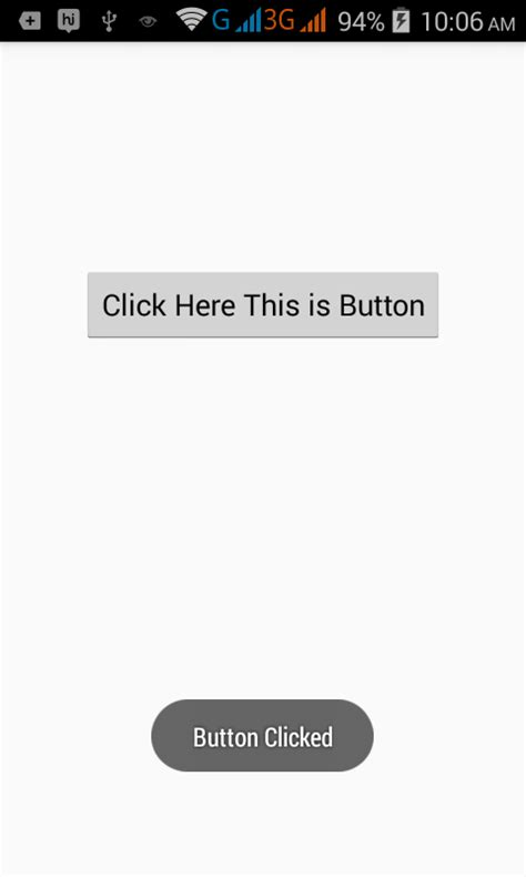 android tutorial onclick how to create onclick event in android on button click