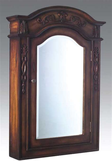 Solid Wood Medicine Cabinet With Mirror by Dragonwood Medicine Cabinet Teak Wood Bmc3340tk