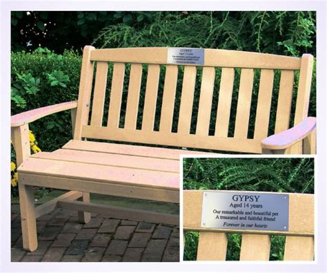 memorial benches with plaque aluminium memorial bench plaque brunel engraving