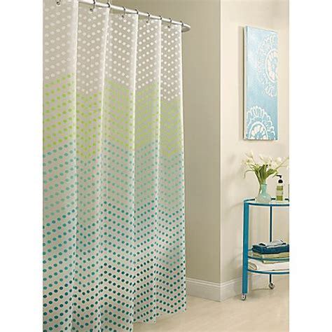 bed bath and beyond kids curtains peva chevron dots shower curtain bed bath beyond