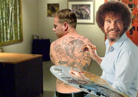 bob ross painting photoshop image 27101 photoshop bob ross your meme