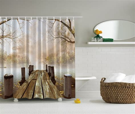 Fabric Kitchen Curtains Decor Fabric Shower Curtain Home Interior And Exterior Design Easily