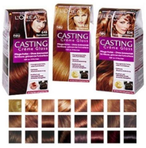 loreal paris katalog farbi paleta boja za kosu loreal casting creme gloss kremašica
