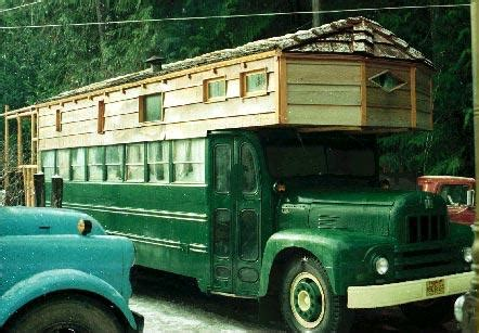 roaming homes  diy rvs converted buses tiny houses