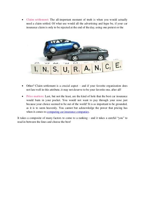 Compare Car Insurance Companies by 4 Ways To Compare Car Insurance Companies