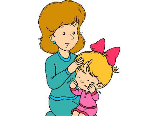 imagenes en ingles para una mama dibujo de madre e hija pintado por anniemch en dibujos net