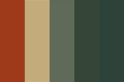 antique map 01 color palette