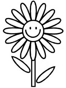 easy coloring pages flower simple 2 coloring page