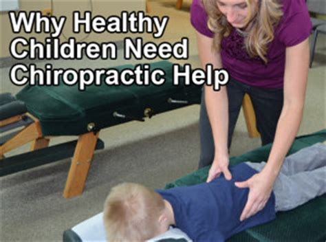 oasis chiropractic cottage grove why healthy children need chiropractic help oasis