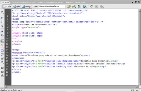 membuat website berita dengan dreamweaver dont just talk it membuat web sederhana dengan dreamweaver