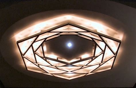 Inside Ceiling Lights Lights Shapes Indoors Interior Display Design Indoor Lighting Ceiling