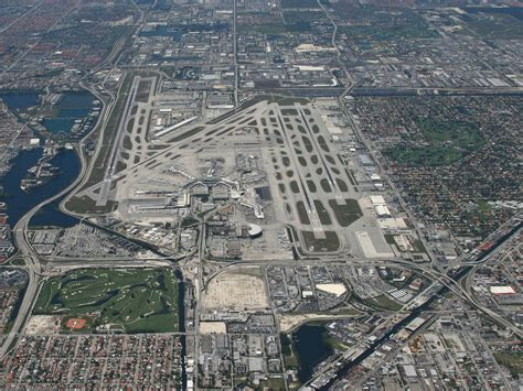 miami airport to images miami international airport looking west a photo on