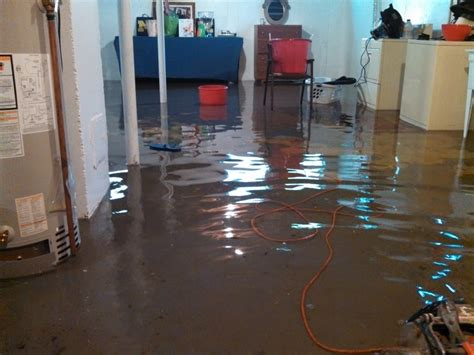 flooded basement restoration and cleaning in royal oak mi