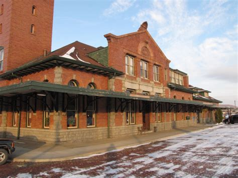 binghamton ny railfan guide downtown