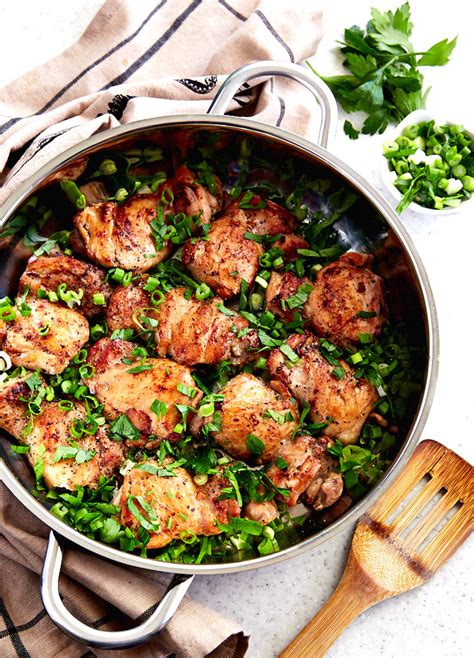 easy delicious chicken thigh recipes