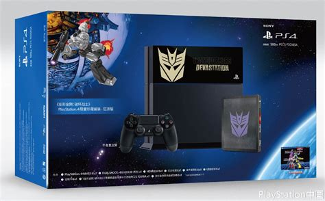 Ps4 Transformers Devastation exclusive transformers devastation playstation 4 bundle