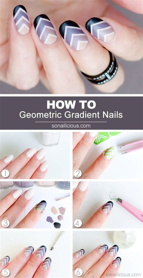 nail tutorial 25 best ideas about gradient nails on nail