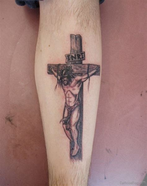 cross tattoos with jesus inside cross 72 great looking jesus tattoos for arm