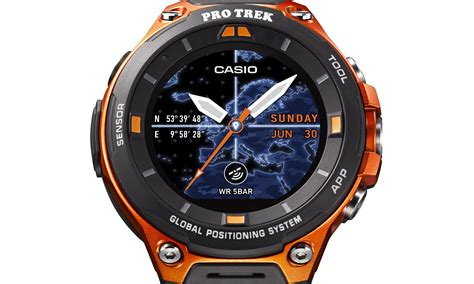Smartwatch Tercanggih casio s new rugged android wear will launch in april