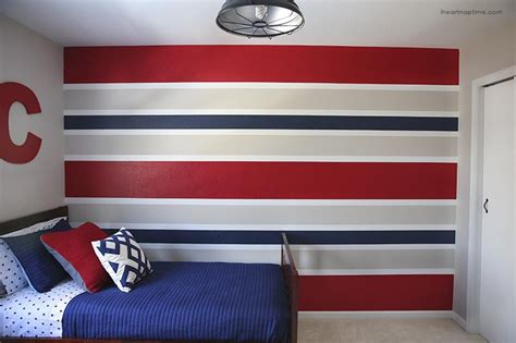 how to paint bedroom walls how to paint perfect striped walls i heart nap time
