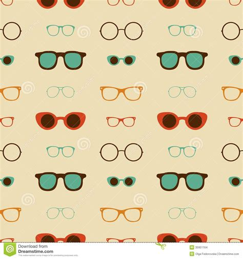 pattern hipster vector pin seamless hipsters background stock vector 80438746