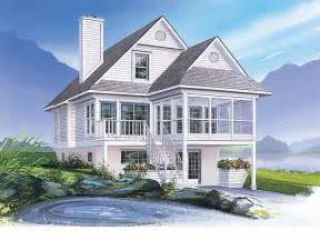 Coastal Home Design Plan 027h 0140 Find Unique House Plans Home Plans And