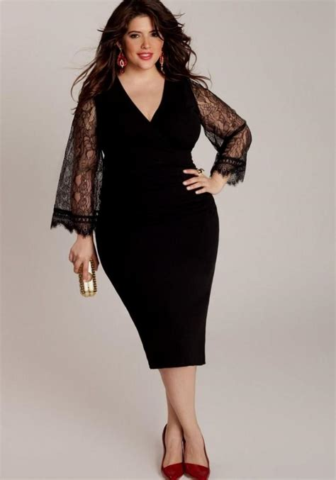 christmas dresses for plus size pluslook eu collection