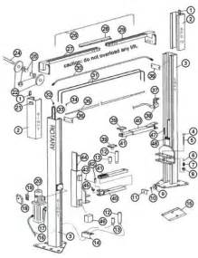 parts breakdown for rotary model spo12 lift svi international model parts breakdown rotary