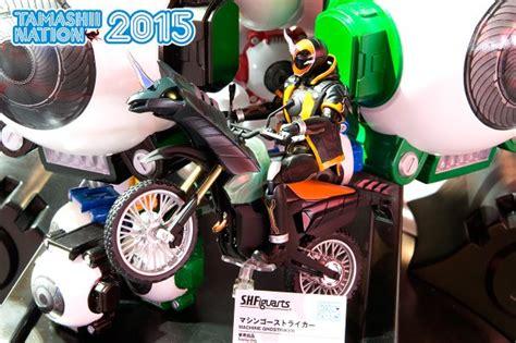 S H Figuarts Ghost Grateful Damashii Tamashii tamashii nations 2015 s h figuarts kamen rider ghost display officially revealed tokunation