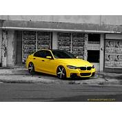 Matte Yellow BMW 3 Series On Vossen Wheels  Autoevolution