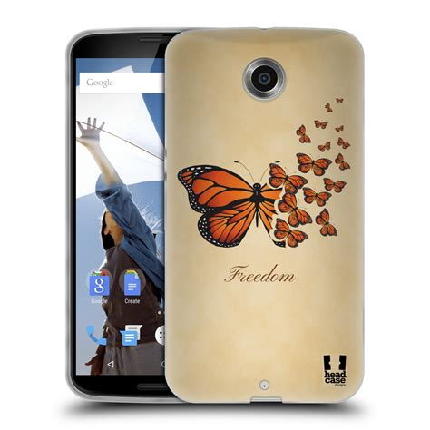Butterfly Cell Phone Designed By A 15 Year by Designs Monarch Butterfly Prints Soft Gel