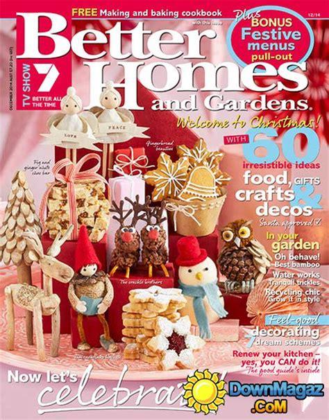 better homes and gardens australia december 2014