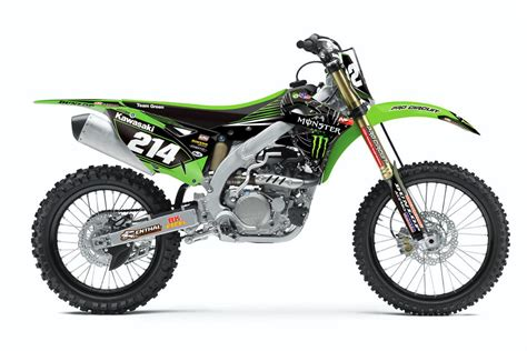 Monster Aufkleber Kawasaki by Monster Energy Kawasaki Team Green Dekor Kx 125 250