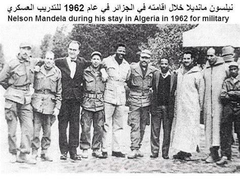 nelson mandela biography french photo of the day mandela training in algeria informed