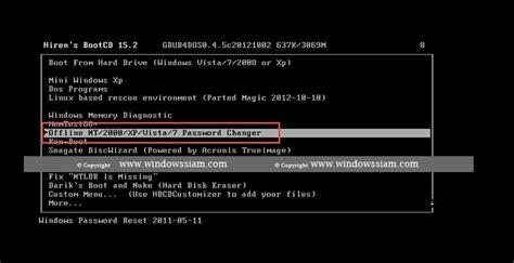reset windows 10 password hirens boot cd ล มรห สผ าน password windows 10 ว ธ แก ไข โครตง าย