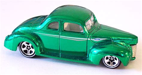 Diecast Wheels 40 Ford Coupe 2002 Editions Collector No 024 wheels 40 ford coupe