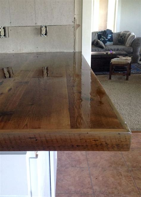 Barn Wood Countertops by 25 Best Ideas About Reclaimed Wood Countertop On