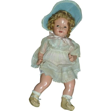 22 composition doll 22 quot baby shirley temple doll beautiful composition sold on