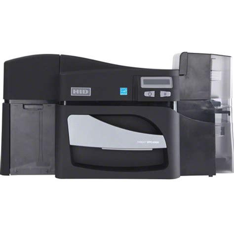 create template fargo card printer fargo dtc4500e dual sided id card printer 55100 b h photo