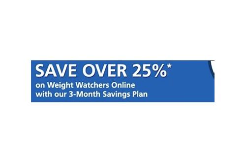 weight watchers canada coupon replaces promotional code
