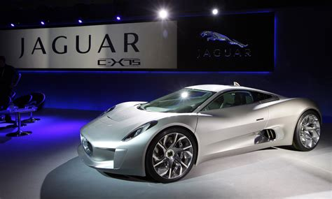 jaguar car jaguar c x75 to star alongside aston martin db10 in bond film