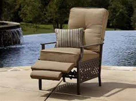 reclining lawn chair aluminum reclining lawn chairs with cushions aluminum