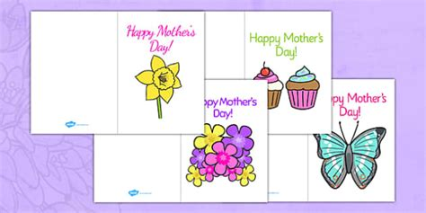 mothers day card ods template s day card template design s day card