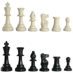 Chess Set Pieces by Plastic Chess Pieces Standard Tournament Chess Pieces