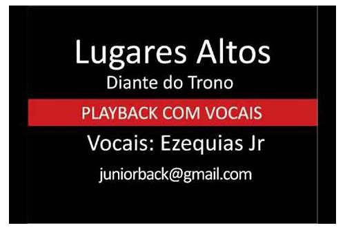 lugares altos diante do trono download