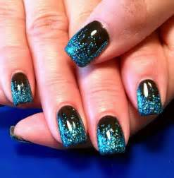 gallery for gt black and silver glitter nail designs