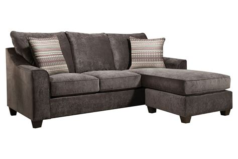 sectional with movable chaise elizabeth grey sofa with moveable chaise