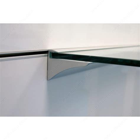 Glass Shelf Support by End Cap For Glass Shelf Support Richelieu Hardware