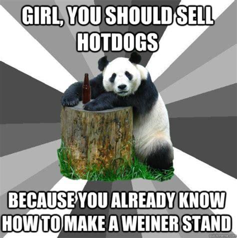 Pick Up Line Panda Meme - panda meme on tumblr